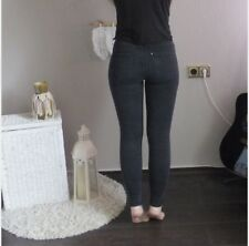 H&M Treggings schwarz 34 XS Leggings figurbetont skinny Jeans Denim washed