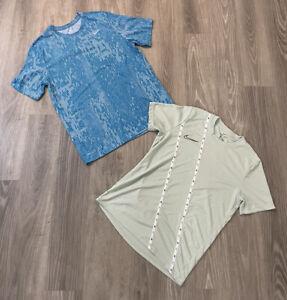 Lot Of 2 Nike Dri Fit T Shirt Mens Large - Short Sleeve Tees Tennis Running