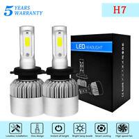 H7 LED Globes Headlight KIT 880W 88000LM White Beam Bulb Replace Xenon Halogen