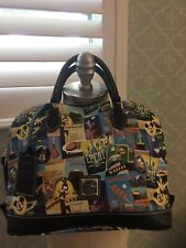 Disney Dooney Bourke Epcot Food & Wine Festival Satchel Bag Nwt