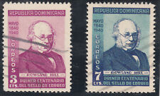 DOMINICAN REPUBLIC 1940 , Sir Rowland Hill, 100th anniversary first stamp. Used