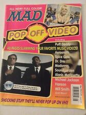 Mad Magazine Pop Video Off Men In Black May 1998 062019nonrh