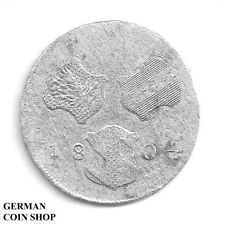 6 Kreuzer 1804 H Günzburg Franz II. - Silber - RDR, Österreich, Austria