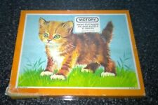 Complete Hayter Vintage Victory Wooden Jigsaw Puzzle Young Animal Series Kitten