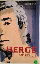 HERGE LIGNES DE VIE – MOULINSART CASTERMAN TINTIN – PHILIPPE GODIIN DEDICACE