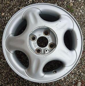 1 gebr. Alufelge 5,5J-14 ET H2 49 mm Opel Corsa B Lochkreis 4x100 NB 56,5 mm