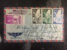 1940s Taipei Taiwan China Cover To Dr Jk Miller Tshimbulu Congo Belge Africa
