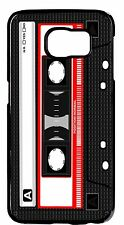 New Retro Cassette Style Case Rubber/Hard Cover Samsung Galaxy or Note Models