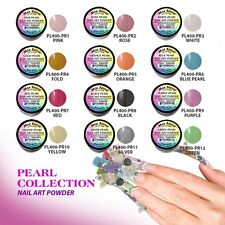 12 Colors Mia Secret Pearl Acrylic Nail Powder Art Collection Art Collection Set