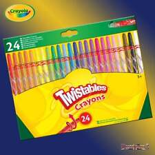 Crayola Twistables 24 Wax Twistable Pencil Crayons