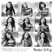 TWICE WAKE ME UP JAPAN LIMITED FC ONCE EDITION CD+9 Changing cover
