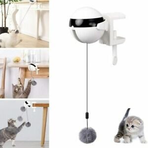 Electric Automatic Lifting Cat Ball Toy Interactive Puzzle Smart Pet Teaser Toys
