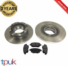 FORD TRANSIT REAR BRAKE PADS & DISCS 2006 ON 2.2 FWD 2 DISC 4 PADS PAD DISC MK7