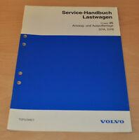 Volvo D7A D7B Ansaug und Auspuffanlage LKW Lastwagen Truck Werkstatthandbuch