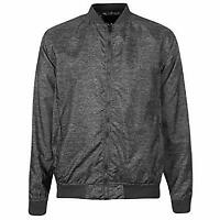 Pierre Cardin Mens Slub Bomber Jacket 2 Open Pockets Grey UK Size XL *32