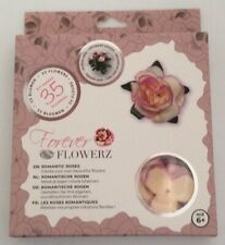 Craft Buddy Forever Flowerz - Ff05lc Romantic Roses Lilac - Makes 35 Flowers