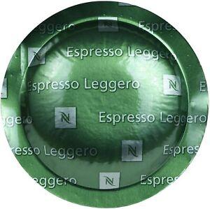 ☕️ CHEAPEST - GENUINE NESPRESSO POD CAPSULES - 200 ESPRESSO LEGGERO + FREE P&P ☕