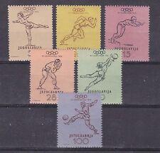 yugoslavia 1952 helsinki ,set MNH Sc 359/64             j1630