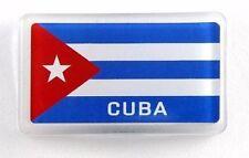 "Cuba Flag Acrylic Small Fridge Souvenir Magnet 2"" x 1.25"""