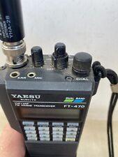 Yaesu FT-470 VHF/UHF Dual Band HT