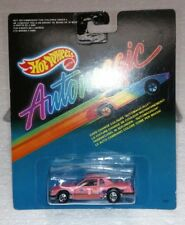 1987 HOT WHEELS AUTOMAGIC PINK #1 NEW COLOR CHANGING