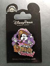 Disney Pin Minnie Mouse Pirate Bling Is My Thing