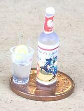 Escala 1:12th casa de muñecas en miniatura de cristal de limonada-Bebida-pub-Accesorio Bar