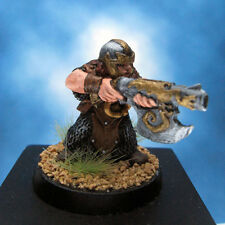 Painted Chainmail Miniature Dwarf Shock Trooper