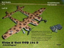 """Blohm & Voss BVP 194 D """"Schlachtflieger"""" 1/72 Bird Models Resinbausatz/resin kit"""
