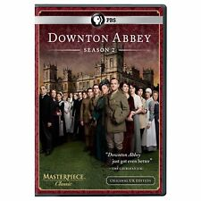 DOWNTON ABBEY second SEASON 2nd DVD downtown Elizabeth MCGOVERN Maggie SMITH