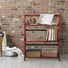 """Casual Home 3-Shelf Folding Stackable Bookcase 27.5"""" Wide in Walnut finish, New"""