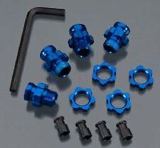 TRAXXAS  Wheel Hub Set 17mm Short(2) Long(2) Blu Slash 2WD  TRA5853X