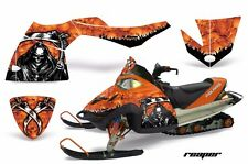 AMR Racing Sled Wrap Polaris Fusion Snowmobile Graphics Kit 2005-2007 REAPER ORG