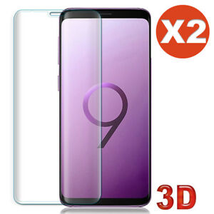 Vitre verre trempé film protection Samsung S20 S9 S8 S10 e 7 Note 8 9 10 20 Lite
