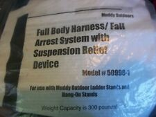 Muddy Outdoors Full Body Harness Fall Arrest System Model 50998-1