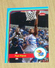 2012 2013 12 13 Upper Deck Fleer Retro autograph Paul Pierce