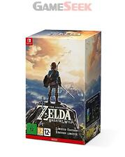 The Legend of Zelda: Atem des Wild Limited Edition-Nintendo Switch NEU