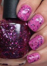 New! Opi Nail Polish Nail Lacquer in Blush Hour ~ Glitter