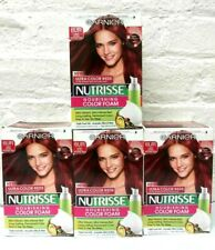 (4) Garnier Nutrisse Nourishing Hair Color Foam 6UR Light Ultra Intense Red Read