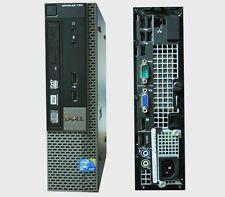 DELL 780 VELOCE RIGENERATO DESKTOP SLIM PC COMPUTER RICONDIZIONATO OPTIPLEX W10