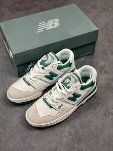 New Balance 550 White/Green - Brand New - Size 7-9.5 - 100% Authentic With box