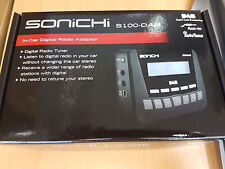 Sonichi S100 PLUG & PLAY DAB Digital Radio Trasmettitore FM AUX MP3 iPod