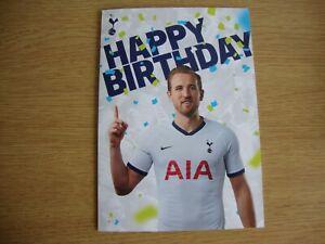 Official Tottenham Hotspur Spurs Birthday Card - Harry Kane & New Stadium