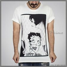 THE CURE Robert Smith BETTY BOOP Goth Vintage Punk Rock T-Shirt M  MEDIUM