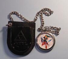 Original 1998 Nintendo The Legend of Zelda N64 Ocarina Time Pocket Watch w Case