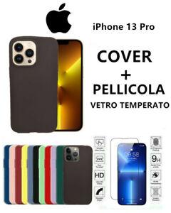 Cover Morbida Custodia Silicone Tpu Opaca pre APPLE IPHONE 13 pro
