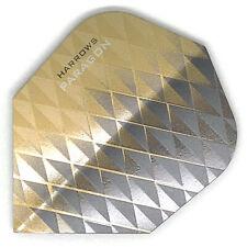 Dart Flights HARROWS PARAGON Standard Shape Extra Strong GOLD BLACK