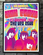 Syd Barrett pink floyd psychedelic print. Specially created.