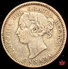 1890H Canada 10 Cents - F/VF - Lot#1562H