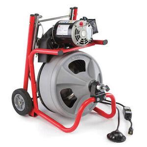 RIDGID K-400 w/C-32 IW (52363) Drum Machine w/ C-32 IW Cable (115V)